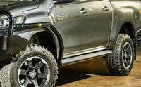 Боковые подножки силовые TJM Toyota Hilux 2015 + (735sbssa87d)