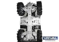 Защита днища с защитой рычагов RIVAL ATV BRP Outlander 1000/800/650/500 G2 (444.7277.1)