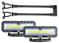 Фонарь для СТО BREVIA LED 120-190см. 2x10W COB, 2x1000lm, 2x4000mAh, Power Bank, type-C (11520)
