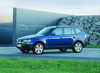 Ветровики на окна (тониров.) EGR BMW X3 04-11 # 92410003B