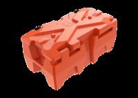 Универсальный кофр BoxX XL цвет оранжевый (BoxX XL-Orange)