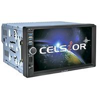 """Двухдиновый мультимедийный центр с 7"""" TFT сенсорным дисплеем  Celsior CST-6505M"""