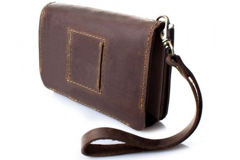 Чехол-портмоне кожаный для Sigma mobile Х-treme PQ33/PQ30 (универсальный)