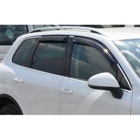 Ветровики на окна (тонированные) EGR VW TOUAREG 2011+ # 92496024B