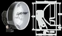 Доп. фары STRIKER 170mm галоген 12V Low Mount 100W Xenophot, 350 тыс. кандел (2 шт.) (RMDL170LT)