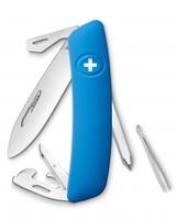 Нож Swiza D04, голубой (4007327)