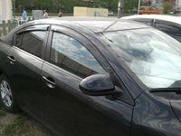 Ветровики на окна (тонированные) EGR MAZDA 3 SDN 08-13 #92450028B