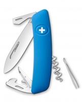 Нож Swiza D03, голубой (4007323)
