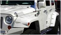 Расширители арок Bushwacker Pocket Style для Jeep Wrangler JK с 2005 года