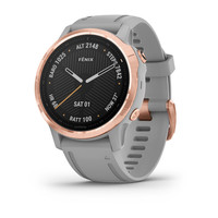 Спортивные часы Garmin Fenix 6S Rose Gold-tone with Powder Gray Band (010-02159-21)