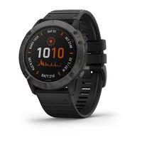 Спортивные часы Garmin Fenix 6X Pro Solar Titanium Carbon Gray DLC (010-02157-21)