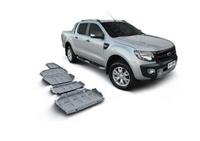 Комплект защит RIVAL 4 mm для Toyota Hilux Vigo 2,5TD; 3,0TD; 2,7  2007-2015 (23333.5790.1)