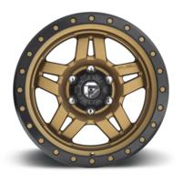 "Диски FUEL ANZA BRONZE CENTER GLOSSY BLACK LIP (17"" | 6X139.7 | 8.5J | ET6)"