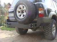 Задний бампер для Nissan Patrol Y61 (1998-2005 ) (8164)