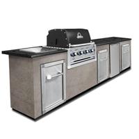Модульная кухня BROIL KING с газовым грилем REGAL 420 BL (без отделки и столешницы) (MOD7)