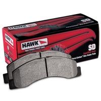 Тормозные колодки HAWK для LEXUS LX570/TOYOTA LC200/Tundra/Sequoia (HB589P.704)