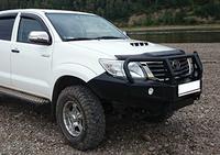 Передний бампер РИФ Toyota Hilux 2012-2014
