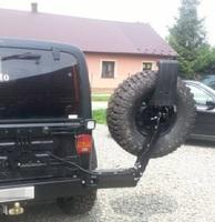 Крепление запасного колеса для Wrangler TJ (1995-2006)