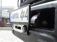 Монтажная плита под лебедку для Suzuki Jimny IV (1.5 бензин) с 2018 (36301)