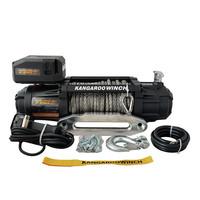 Лебедка электрическая Kangaroowinch K12000 Extreme HD 12V с синтетическим тросом - 5.4т