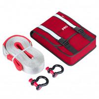Компактный такелажный набор ORPRO 12000 кг (Красная сумка)