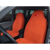 Комплект грязезащитных чехлов ORPRO на передние сиденья оранжевый (ORP-TP0118)