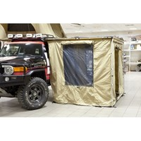 Комплект из стенок с дверью и окном для компактного автомобильного навеса (маркизы). Размер 2.0 м Х 2.0 м. (STO TN-AWWA20)