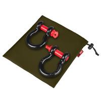 """Комплект шаклов ORPRO 3/4"""" 28.5т  зеленым мешком для хранения (ORP-TK0207)"""