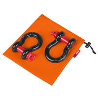 """Комплект шаклов ORPRO 3/4"""" 28.5т с оранжевым мешком для хранения (ORP-TK0209)"""