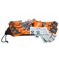 """Комплект усиленных браслетов противоскольжения T-Plus 245-305 R16-21"""" (8 штук) (T004347)"""