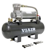 Компрессор VIAIR, ресивер 2.0Gal, набор управления давлением (20007)