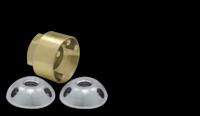 """Крепежные гайки """"секретки"""" для фар LIGHTFORCE (2 шт., 10mm) (ATN10MM)"""