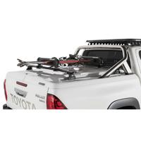 Крышка багажного отсека с дугами PROFORM для TOYOTA Hilux 2015+, система крепления TANGO, черная, текстурированный пластик