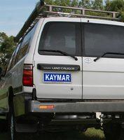 Задний бампер KAYMAR для TOYOTA LC105 (c двумя штоками) (K3415U)