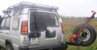 Крепление для запасного колеса для Land Rover Discovery II