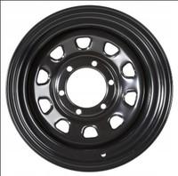Колесные диски черные лакированные D-Type (15x8 6x139.7 ET-25)