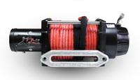 Лебедка XTR 12V c тросом синтетическим 17000LBS 7.7т