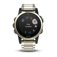 Часы-навигатор Garmin Fenix 5S Sapphire (010-01987-05)