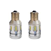 Автомобильная светодиодная лампа головного освещения T20 (P21W) Canbus White 2 шт (LJT23P)