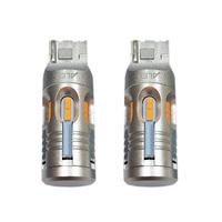 Автомобильная светодиодная лампа головного освещения T20 (WY21W) Canbus Yellow 2 шт (LJT24W)