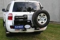 Выносной крепеж запаски KAYMAR правый к заднему бамперу TOYOTA LC200 (K20020R)