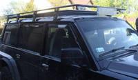 Багажник на крышу Patrol GU4 днинный (LWB) с сеткой (8506)