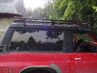 Багажник на крышу Patrol GU4 короткий (SWB) без сетки (8507)