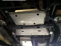 Защита механической коробки передач для Nissan Patrol Y61, GU4 алюминиевая (8818)