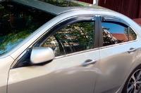 Ветровики на окна (тонированные) EGR HONDA ACCORD 03-08 # 92434008B