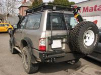 Задний бампер для Nissan Patrol Y61 (1998-2004) (8762)