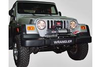 Монтажная плита под лебедку AFN - Jeep Wrangler TJ (36963)
