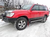 Пороги для Toyota Land Cruiser J100 1998-2007 (бензин) (9821)