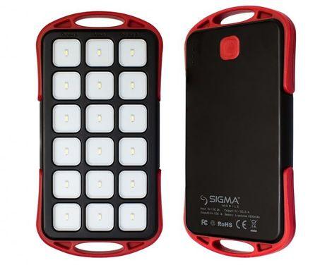 Powerbank-фонарик Sigma Mobile X-Sport