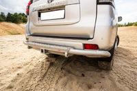 Задний силовой бампер РИФ Toyota Land Cruiser Prado 150